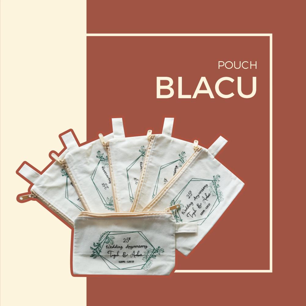 Souvenir Pouch Blacu Murah