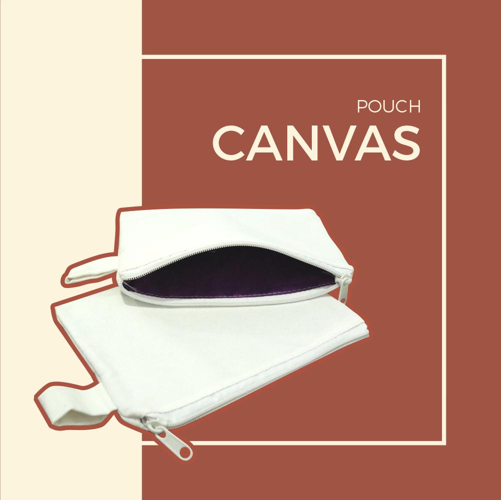 Souvenir Pouch Canvas Murah