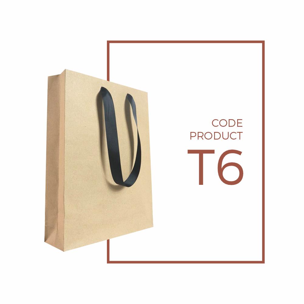 Paper Bag (tas kertas) Custom Handle Pita