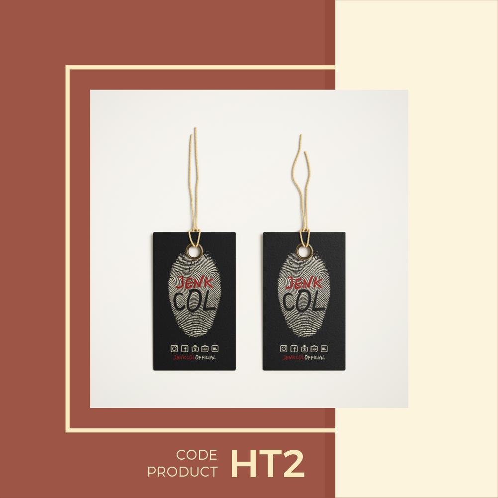 Hangtag Label Butik Murah Free Desain