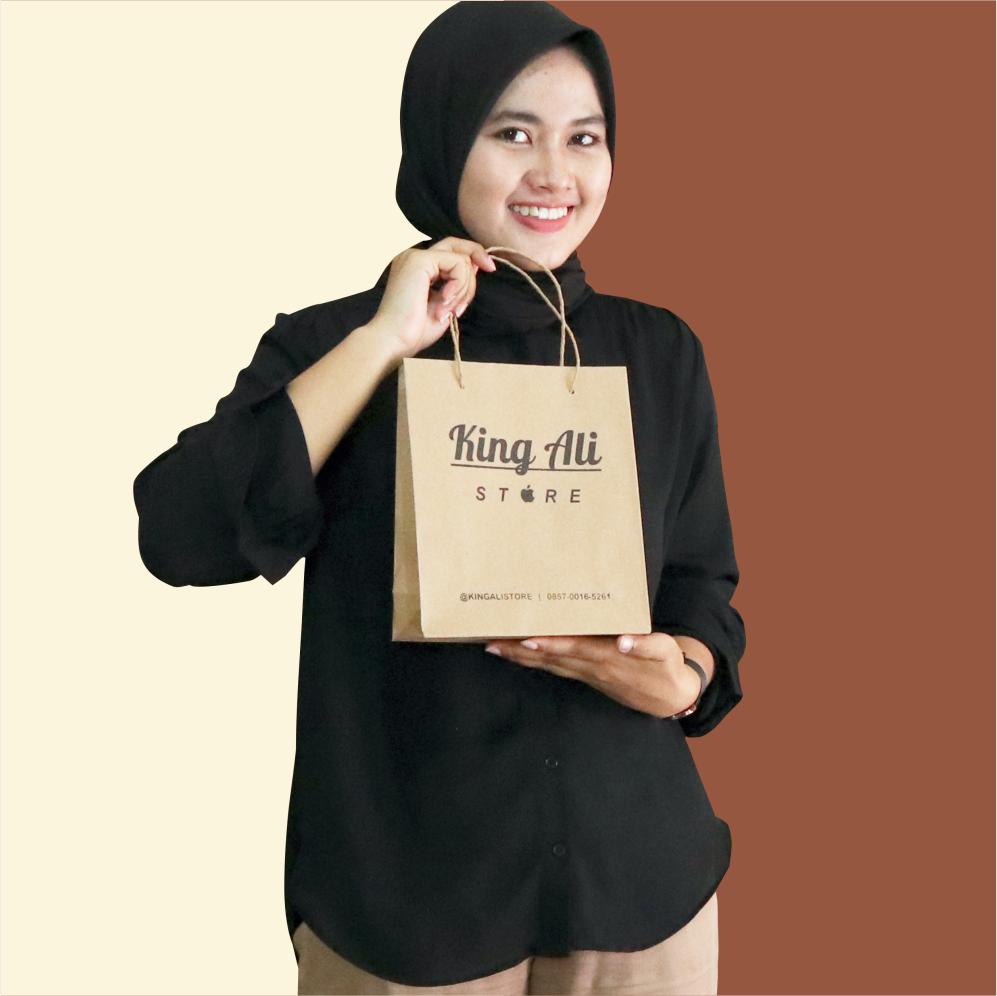 Paper Bag Sablon Kemasan Handphone