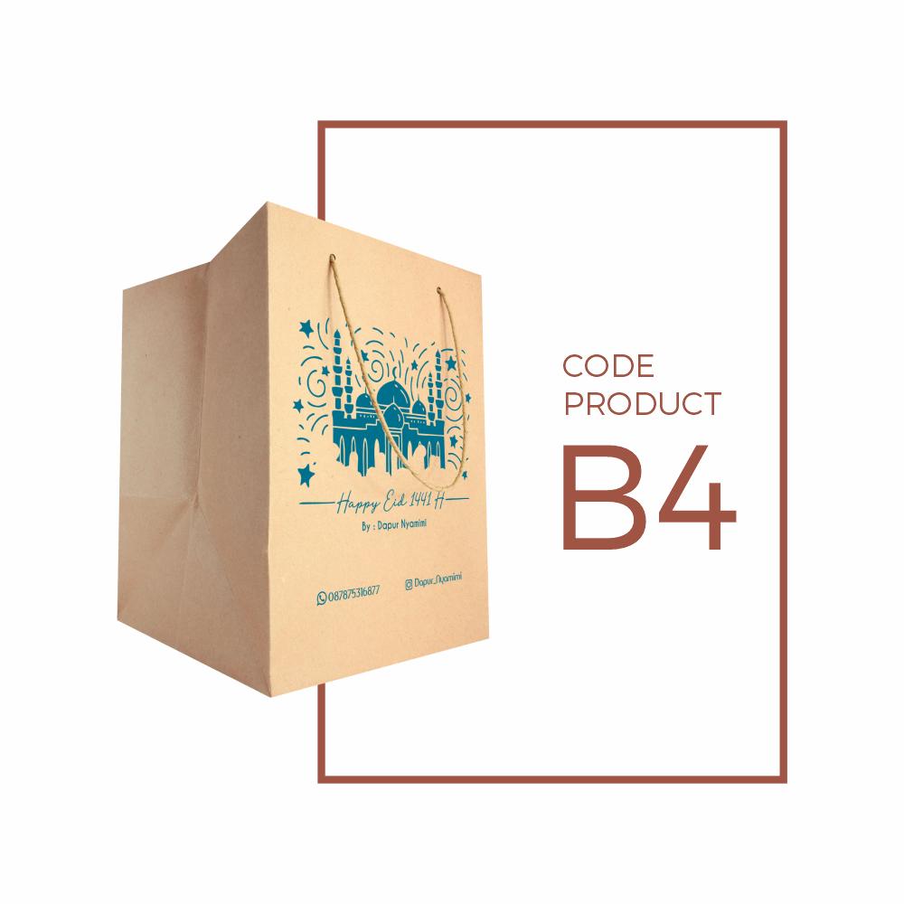 Paper Bag (tas kertas) Box Roti dan Nasi
