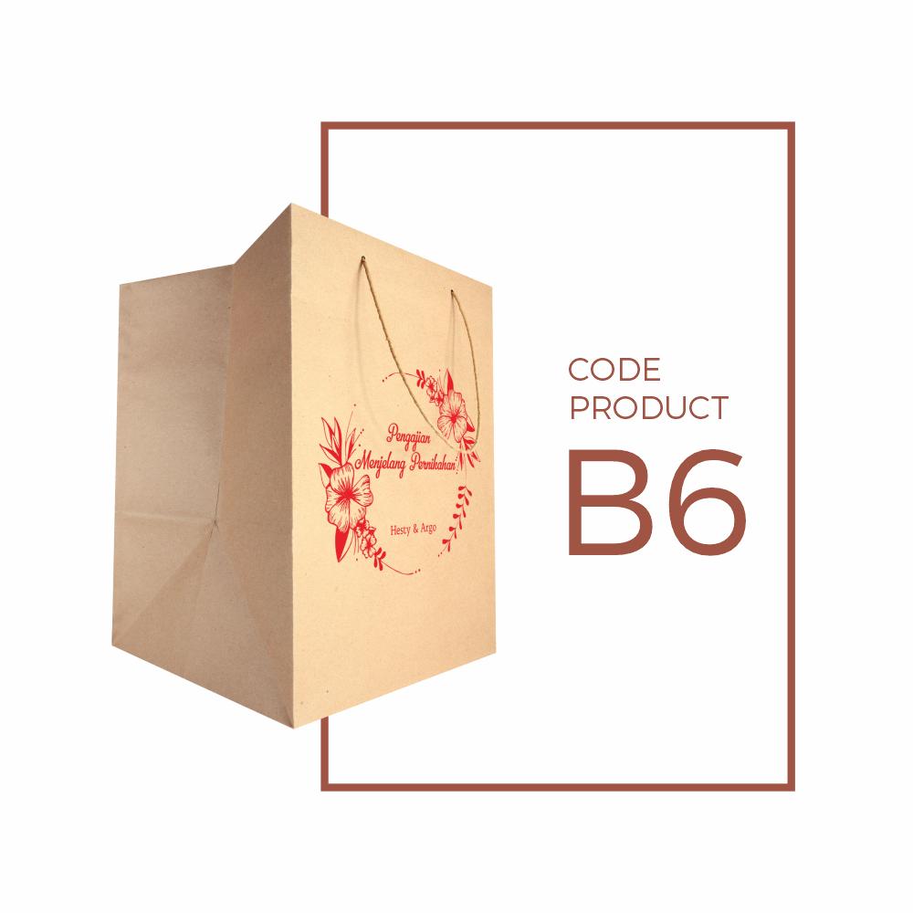 Paper Bag (tas kertas) Sablon Box Nasi